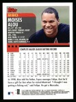 2000 Topps #290  Moises Alou  Back Thumbnail