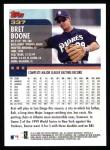 2000 Topps #337  Bret Boone  Back Thumbnail