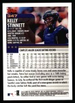 2000 Topps #347  Kelly Stinnett  Back Thumbnail