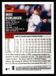 2000 Topps #388  Mike Remlinger  Back Thumbnail