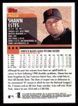 2000 Topps #403  Shawn Estes  Back Thumbnail