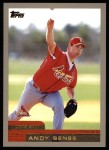 2000 Topps #428  Andy Benes  Front Thumbnail