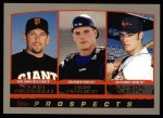 2000 Topps #448  Doug Mirabelli / Ben Petrick / Jayson Werth  Front Thumbnail