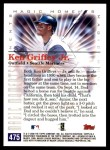 2000 Topps #475 C  -  Ken Griffey Jr. Magic Moments Back Thumbnail