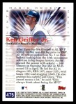 2000 Topps #475 B  -  Ken Griffey Jr. Magic Moments Back Thumbnail