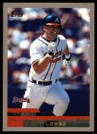 2000 Topps #16  Javy Lopez  Front Thumbnail