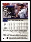 2000 Topps #32  Omar Daal  Back Thumbnail