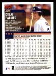 2000 Topps #43  Dean Palmer  Back Thumbnail
