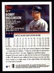 2000 Topps #87  Bobby Higginson  Back Thumbnail