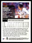 2000 Topps #139  Brook Fordyce  Back Thumbnail