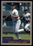 2000 Topps #161  Dave Martinez  Front Thumbnail