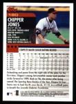 2000 Topps #180  Chipper Jones  Back Thumbnail