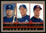 2000 Topps #208   -  Kit Pellow / Kenny Barker / Russ Branyan Draft Picks Front Thumbnail