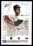2000 Topps #237 E  -  Hank Aaron Magic Moments Back Thumbnail