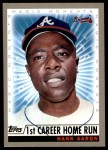 2000 Topps #237 A  -  Hank Aaron Magic Moments Front Thumbnail