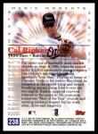 2000 Topps #238 C  -  Cal Ripken Magic Moments Back Thumbnail
