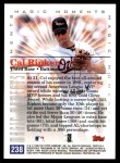 2000 Topps #238 B  -  Cal Ripken Magic Moments Back Thumbnail