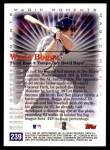 2000 Topps #239 A  -  Wade Boggs Magic Moments Back Thumbnail