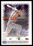 2000 Topps #239 C  -  Wade Boggs Magic Moments Back Thumbnail