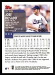 2000 Topps #319  Jose Rosado  Back Thumbnail