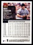 2000 Topps #324  Mike Stanton  Back Thumbnail