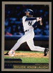 2000 Topps #345  Chuck Knoblauch  Front Thumbnail