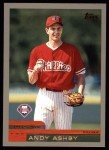 2000 Topps #393  Andy Ashby  Front Thumbnail