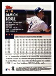 2000 Topps #418  Damion Easley  Back Thumbnail