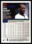 2000 Topps #31  Fred McGriff  Back Thumbnail