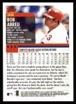 2000 Topps #38  Bobby Abreu  Back Thumbnail