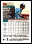 2000 Topps #101  Preston Wilson  Back Thumbnail