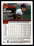 2000 Topps #192  Joe McEwing  Back Thumbnail
