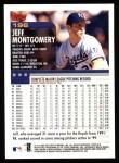 2000 Topps #196  Jeff Montgomery  Back Thumbnail