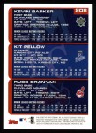 2000 Topps #208   -  Kit Pellow / Kenny Barker / Russ Branyan Draft Picks Back Thumbnail