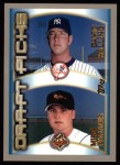 2000 Topps #215   -  David Walling / Mike Paradis Draft Picks Front Thumbnail