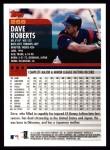2000 Topps #266  Dave Roberts  Back Thumbnail