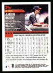 2000 Topps #288  Aaron Boone  Back Thumbnail