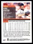 2000 Topps #325  Kirk Rueter  Back Thumbnail