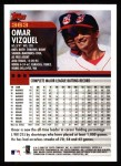 2000 Topps #363  Omar Vizquel  Back Thumbnail