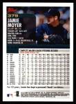 2000 Topps #379  Jamie Moyer  Back Thumbnail