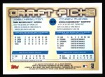 2000 Topps #449  Corey Myers / Josh Hamilton  Back Thumbnail