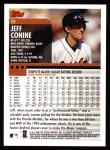 2000 Topps #8  Jeff Conine  Back Thumbnail