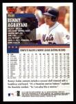 2000 Topps #52  Benny Agbayani  Back Thumbnail