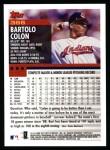 2000 Topps #366  Bartolo Colon  Back Thumbnail