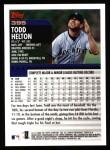2000 Topps #395  Todd Helton  Back Thumbnail