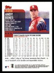 2000 Topps #428  Andy Benes  Back Thumbnail