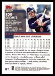 2000 Topps #437  Ron Coomer  Back Thumbnail