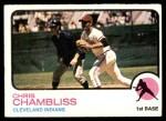 1973 Topps #11  Chris Chambliss  Front Thumbnail