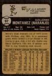 1973 Topps #97  Willie Montanez  Back Thumbnail