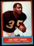1963 Topps #123  John Henry Johnson  Front Thumbnail